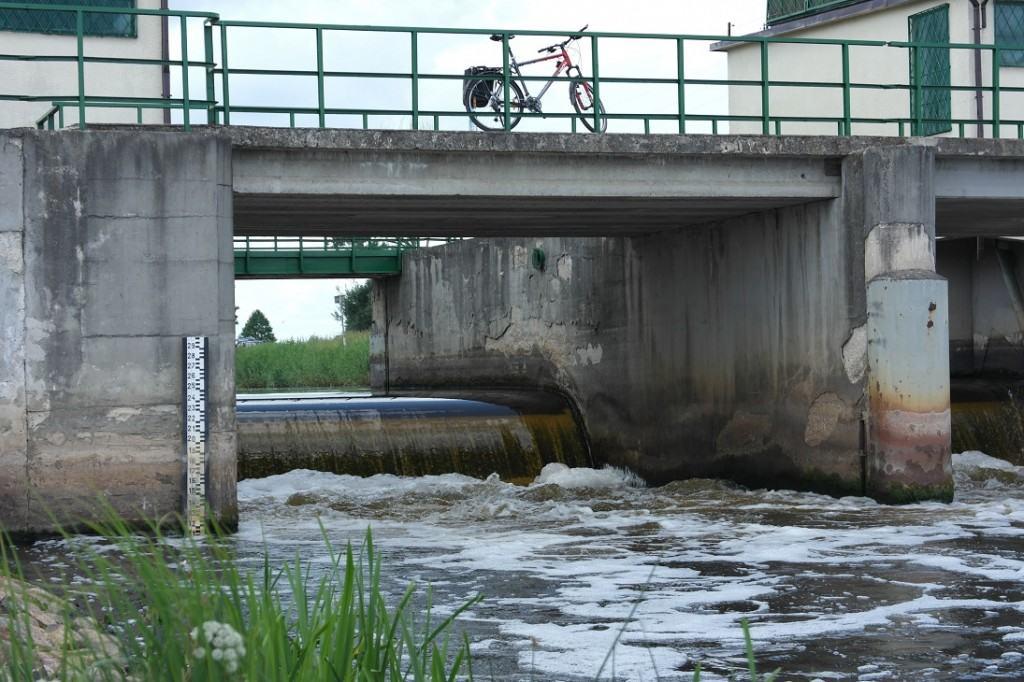 Tama na rzece Narew