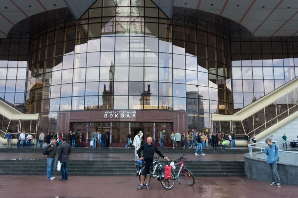 Dworzec w Mińsku