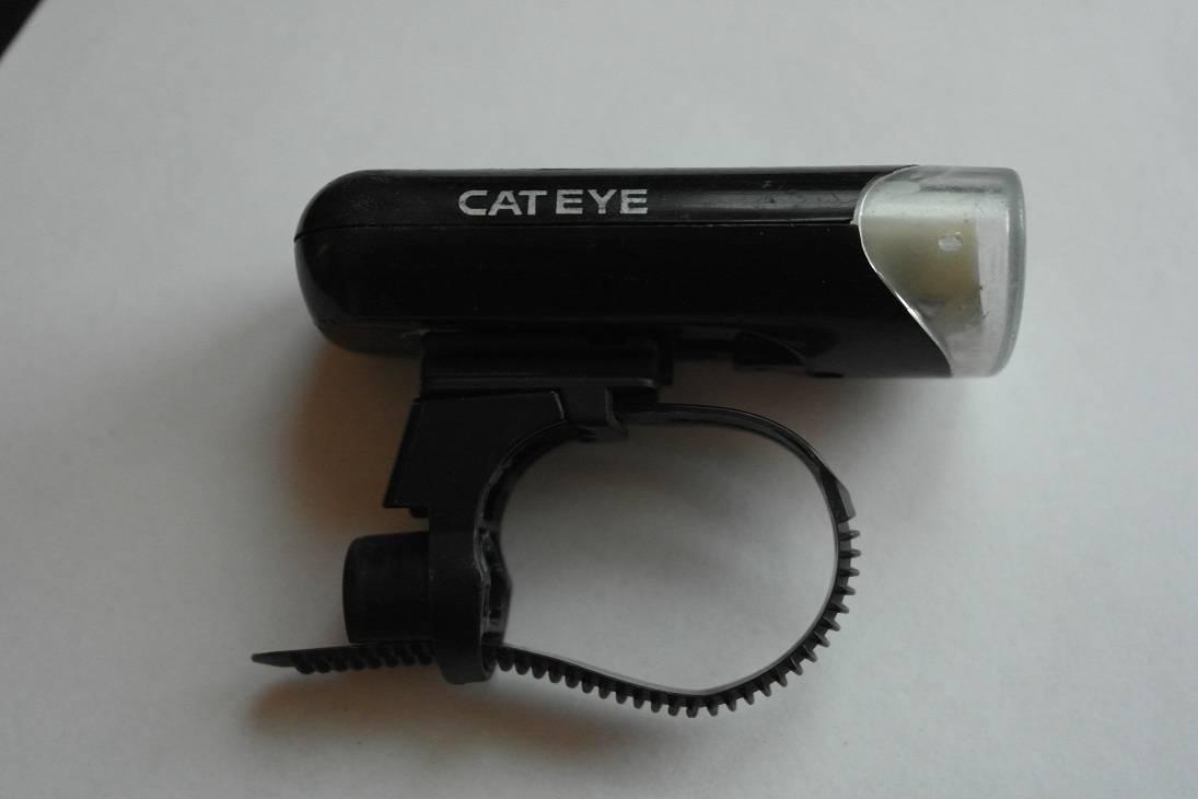 używana lampka cateye