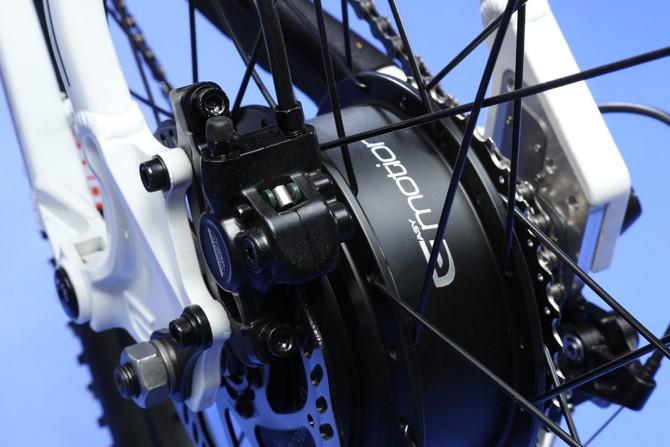 rower zasilany elektrycznie