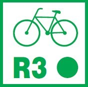 koniec szlaku rowerowego miedzynarodowego