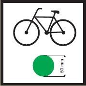 koniec szlaku rowerowego