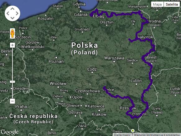 planowa trasa wschodnia