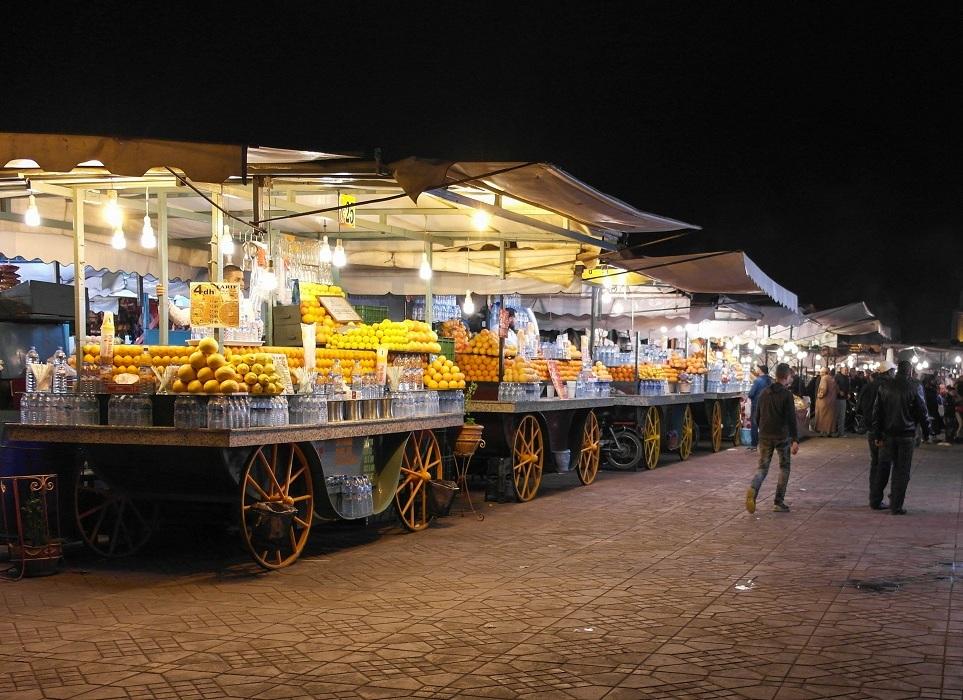 plac Dżamaa al-Fina Marrakesz