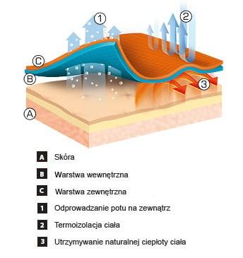 Bielizna termoaktywna brubeck