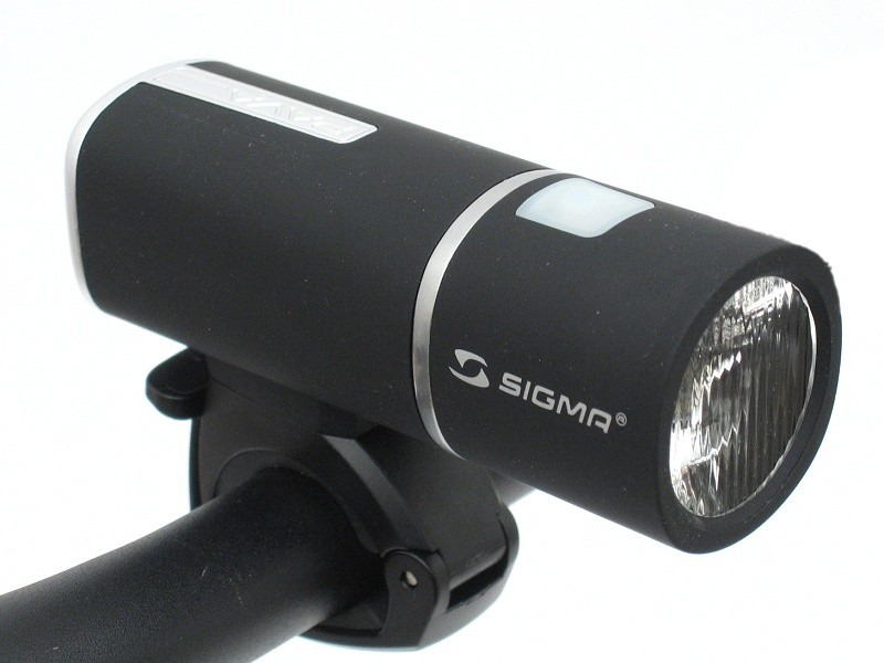 przednia lampka rowerowa z diodą LED sigma