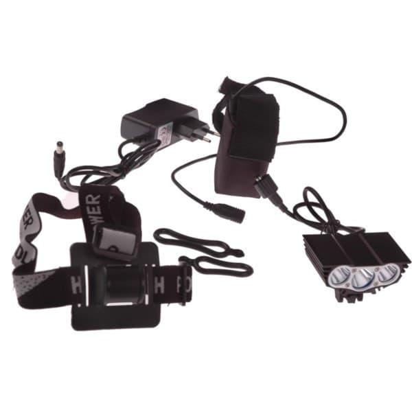 przednie oświetlenie do roweru z akumulatorem